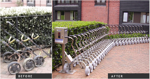MacDonal Botley Park – 30 trolley system
